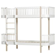 Oliver Furniture - Wood Bunk Bed in Oak
