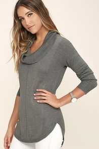 673638d505eafe Make cuddling an all-year activity with the Olive   Oak Snuggle Season Grey  Sweater