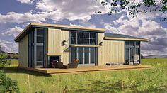 Ludlow pods, 731 sq . Greenpod Development. Like the indoor/outdoor fireplace...