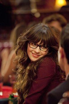518fc56d3c Pilot (2011). Oliver PeoplesPolyvoreZooey Deschanel GlassesZooey Deschanel  HairIts JessJess New GirlGeek ChicBataGirls With Glasses