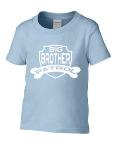 Big Brother  Patrol Toddler T-Shirti Have Shat my by ForeverTees1