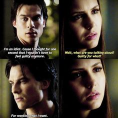 """""""[3x10] I MISS S3 DELENA SO MUCH.  When he wanted her so bad. And she wanted him but tried so hard to ignore her feelings. GOD THEY ARE PERFECT. …"""""""