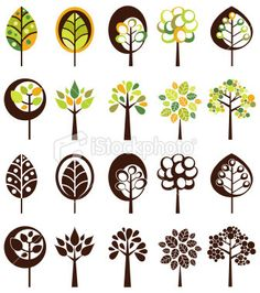 Trees Prehistoric, Sweet Home, Trees, Paper Crafts, Design Ideas, Tutorials, Illustrations, Templates, Google Search