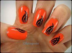 Nail Art by Belegwen: Varoitusmerkit