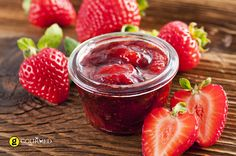 Homemade Strawberry Jam Recipe - Only 3 Ingredients! - My Aunt Mary makes awesome jam, thought I would give it a try. Homemade Strawberry Jam, Strawberry Jam Recipe, Strawberry Margarita, Margarita Punch, Strawberry Preserves, Pbs Food, Jam And Jelly, Margarita Recipes, Canning Recipes