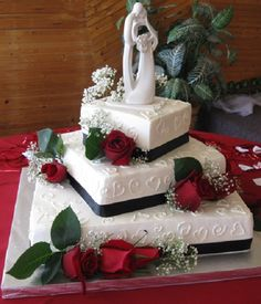 Kuchen Dekorieren Ideen: 5 Tier Weißes Quadrat Hochzeitstorte Mit Rosa Blüten