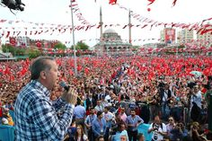 Four members of Turkey's media watchdog have said President Recep Tayyip Erdoğan was violating broadcasting principles and election law, by conducting rallies across the country right before the general elections in June.