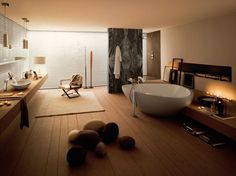 Salle de bain cosy par Axor Massaud