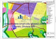 Map of Zankhi, Dholera SIR #Dholera #DholeraSIR #DholeraSmartCity #Gujarat