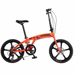 304.19$  Buy now - http://aliuag.worldwells.pw/go.php?t=32729959339 - Altruism K1 20in Mountain Bicycles Aluminum Alloy Road Folding Bike Bicycle 7Speed Gears Lightweight City Sports Bikes bicicleta 304.19$