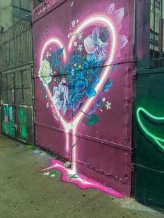 Exploring The Bushwick Collective: A Brooklyn Street Art Tour - If you're looking for street art in Brooklyn, look no further than the Bushwick Collective – a growing and ever changing collection of world-class street art. Banksy Graffiti, Street Art Graffiti, Graffiti Wall Art, Graffiti Painting, Murals Street Art, Mural Wall Art, Graffiti Artists, Graffiti Lettering, Graffiti Art Drawings