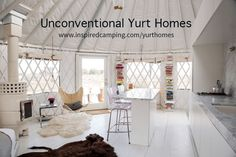 If you think living in a yurt is dark and unappealing, then you'd better think again. Welcome to the brave new world of yurt homes...