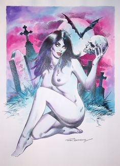 Naked Vampirella (Romero)