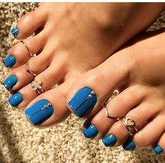 Toe nail art designs | Toe nail art design ideas for summer spring