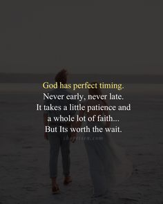 Gods timing is always right - Persons seek out cute estimates all round the web from the 3 reason. Biblical Quotes, Religious Quotes, Bible Verses Quotes, Jesus Quotes, Spiritual Quotes, Faith Quotes, Wisdom Quotes, True Quotes, Quotes To Live By