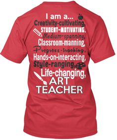 0fc7677b6 You are Awesome! Ar. Art Teacher OutfitsTeacher StyleTeacher ShirtsTeacher  ...