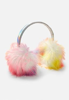 Wedding Celebrate Chinese Wish Words Xi Winter Earmuffs Ear Warmers Faux Fur Foldable Plush Outdoor Gift