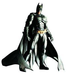 Action Figure Square Enix Dark Knight Trilogy Batman Play Arts Kai Action Figure #Action Figure#Square Enix