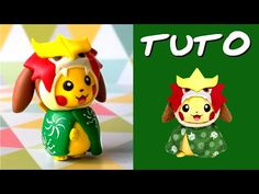 TUTO FIMO | Pikachu cosplay Entei (Inspiré de la peluche Pikachu monthly du Pokémon Center) - YouTube