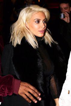 Kim leaving the Foundation Louis Vuitton in Paris - March 7, 2015