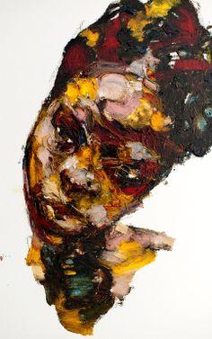 "Saatchi Art Artist: Jaeyeol Han; Oil 2013 Painting ""Passersby, Haiti III"""