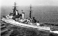 HMS Jamaica, a Crown Colony class cruiser of the Royal Navy, was named after the island of Jamaica, which was a British possession when she was built in the late 1930's.