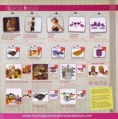 Special Bonus Twin Tulipware   Januari - Februari 2014