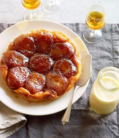 Tarte Tatin - I'm making this tonight! With double thick cream... yummm
