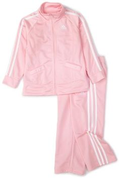 adidas Infant Girls Basic Tricot Set,Light Pink,24M - - Sale Price: $21.60