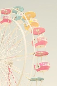 Candy Colored Farris Wheel