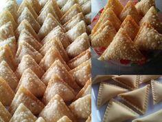 resepi-temosa-ikan Curry Puff Recipe, Snack Recipes, Snacks, Malaysian Food, Snack Box, Asian, Apple Pie, Waffles, Frozen