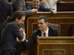 Podemos retiraría su moción de censura ante una propia del PSOE