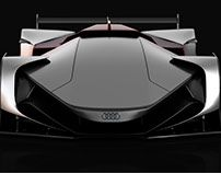 Audi Future Le Mans Vision Car & Racing Shoes