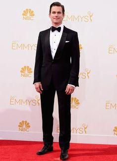 Matt Bomer's Classic Tom Ford Tuxedo at the 2014 Emmy Awards   blog.theknot.com