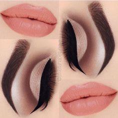 brown cut crease