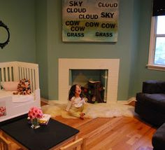 the boo and the boy: Fireplaces in kids' rooms - part 2