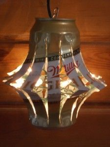 Celebrate National Beer Can Appreciation Day (1/24/13) by reusing an empty beer can and making something useful or decorative out of one.