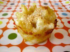 mac, chicken and cheese bites