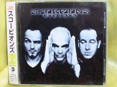 CD/Japan- SCORPIONS Eye II Eye +1 bonus trk w/OBI RARE 1999 AMCE-7001 #HardRock