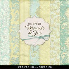 Freebies Kit of Backgrounds - Moments de Joie:Far Far Hill - Free database of…