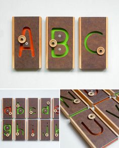 Wood Teaching Letters from Present & Correct
