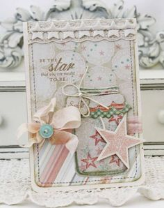 Be The Star You Want To Be Card by Melissa Phillips for Papertrey Ink (May 2012)