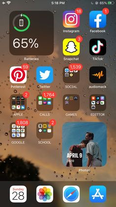 Application Telephone, Application Iphone, Iphone Home Screen Layout, Iphone App Layout, Organize Apps On Iphone, Telefon Apple, Iphone Life Hacks, New Ios, Ios 7