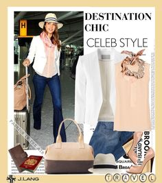 """Destination Chic, Jessica's Style."" by irishrose1 ❤ liked on Polyvore"