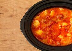 Receta de patatas a la riojana en Crock pot Slow Cooker Recipes, Crockpot Recipes, Recetas Crock Pot, Slow Food, Lidl, Curry, Cooking, Ethnic Recipes, Foodies