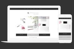 Wordpress Theme Romantica by Kelly Brito Studio on @creativemarket