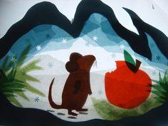 Creatieve verwerking bij prentenboek: Kleine muis zoekt een huis