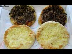 اشهى مناقيش بالجبن والزعتر بانجح عجينه - YouTube Lebanese Recipes, Arabic Food, Middle East, Ramadan, Breads, Muffin, Breakfast, Arabian Food, Bread Rolls
