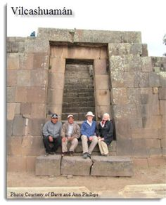 """""""This was a wonderful trip for us and surpassed our every expectation. We came especially to see Wari and Inca archaeology and the art in Ayacucho, and we take with us precious memories of delicious food and remarkable and people every place we visited. We will be forever grateful and look forward to coming again."""" David and Ann Phillips - USA"""