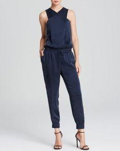 Paige Denim Jumpsuit - Garland Silk  Bloomingdale's